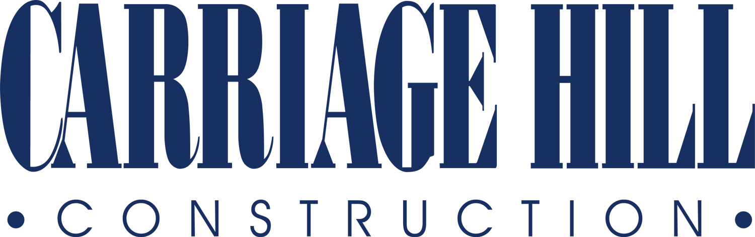Background - Carriage Hill Construction. Since 1993. Logo